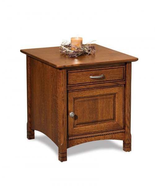 West Lake Enclosed End table
