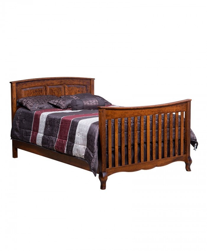 French Country Double Bed