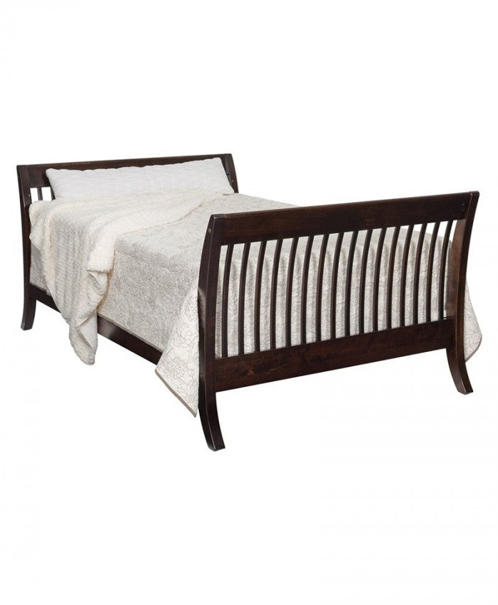 Manhattan Full Size Slat Bed