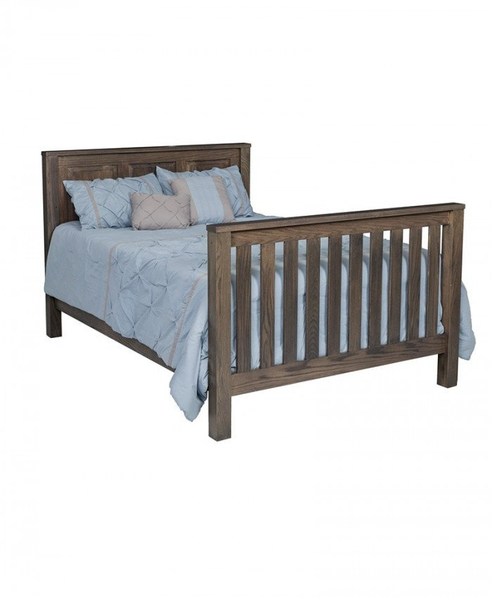 Mission Full Size Panel Bed