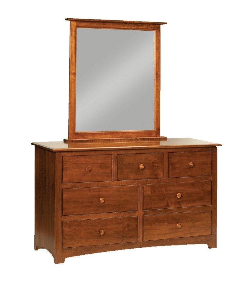 Monterey 7 Drawer Dresser with Mirror