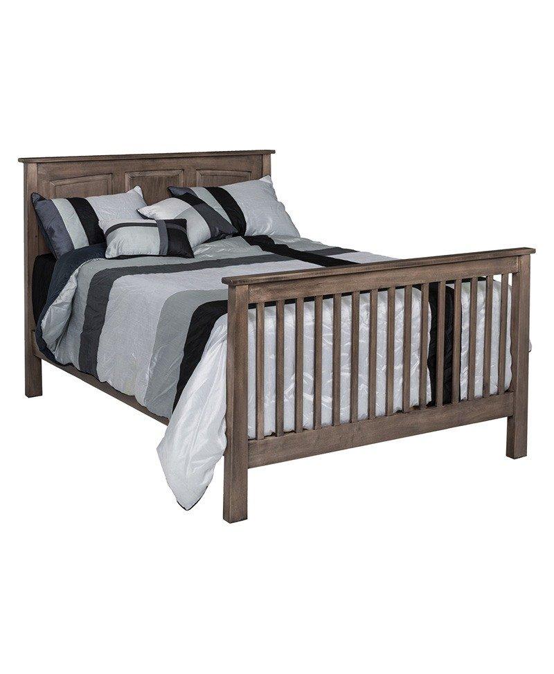 Shaker 3 In 1 Convertible Crib Deutsch Furniture Haus