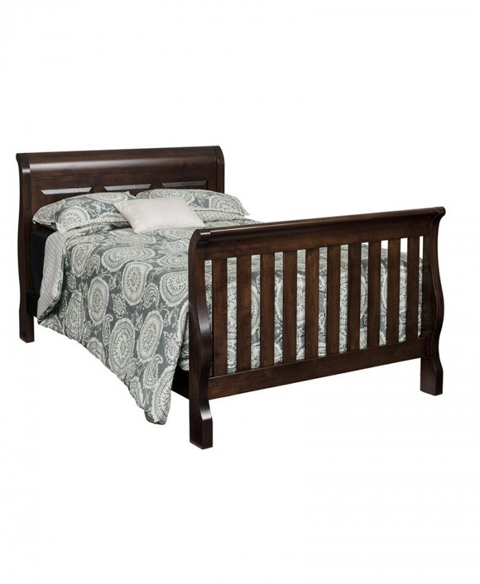 Traditional Panel Bed Convertible
