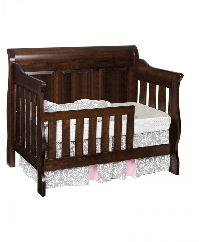 Traditional 3-in-1 Convertible Crib