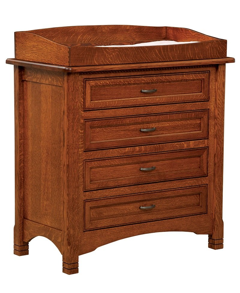 West Lake 4 Drawer Dresser with Box Top