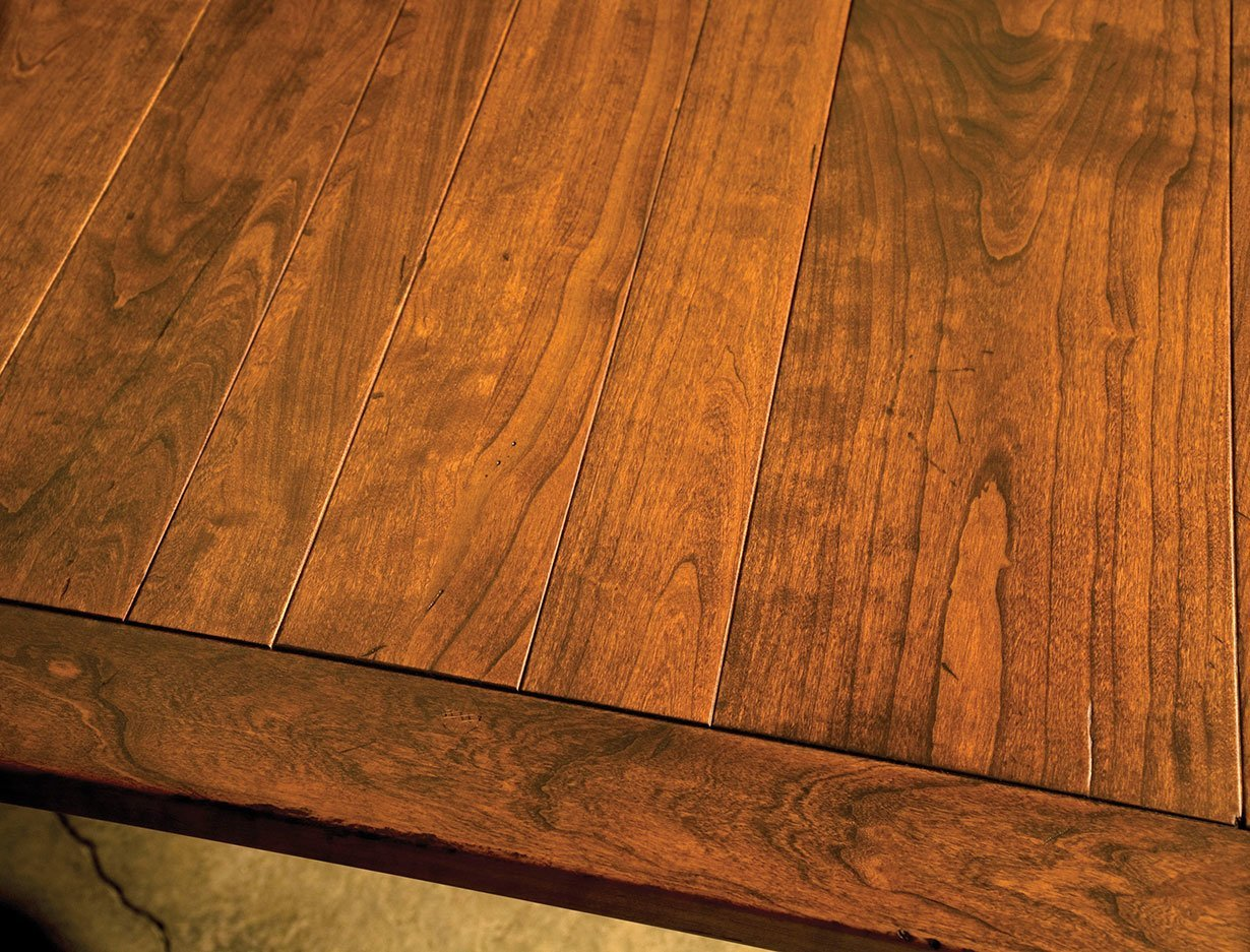 Jacoby Leg Table-Top Detail