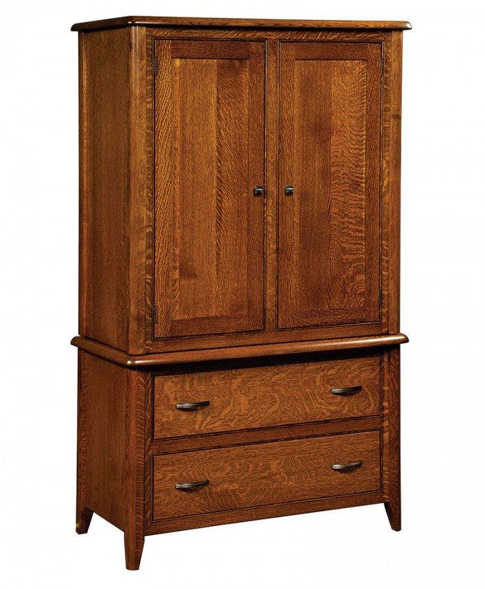 Cascade 2 Drawer 2 Door Armoire