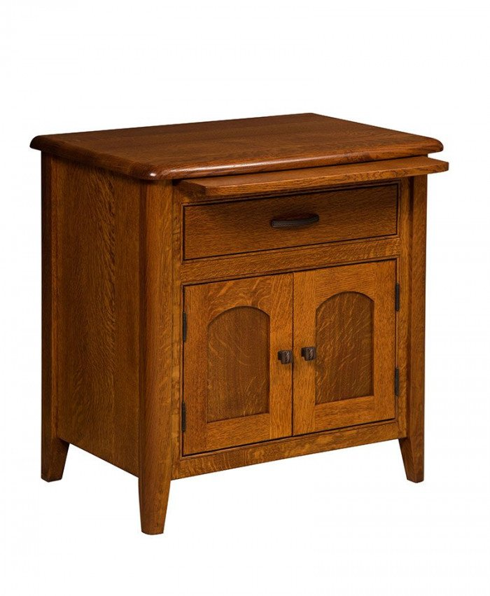 Cascade 1 Drawer 2 Door Nightstand