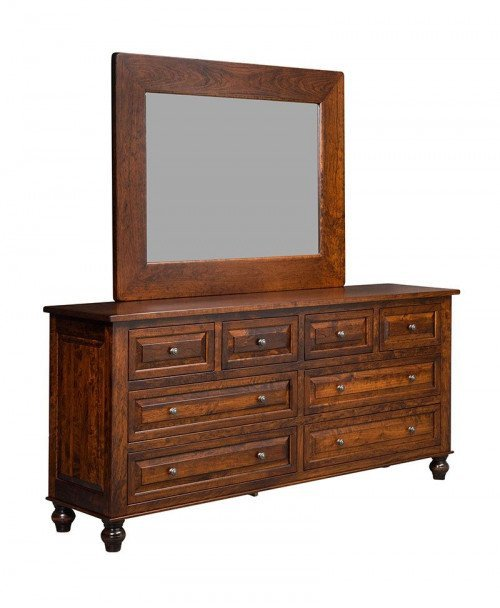 Manchester 8 Drawer Dresser with Mirror
