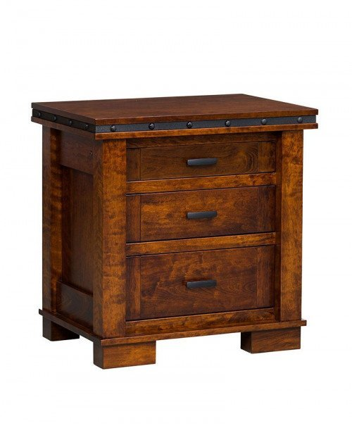 Monta Vista 3 Drawer Nightstand
