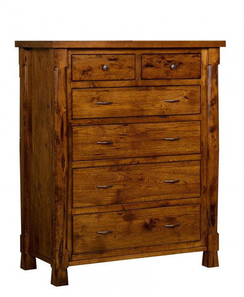 Ouray 6 Drawer Chest-Hickory