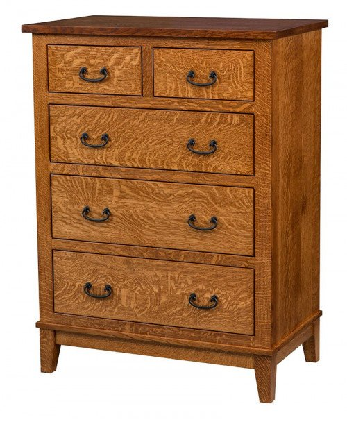 Sierra Mission 5 Drawer Chest