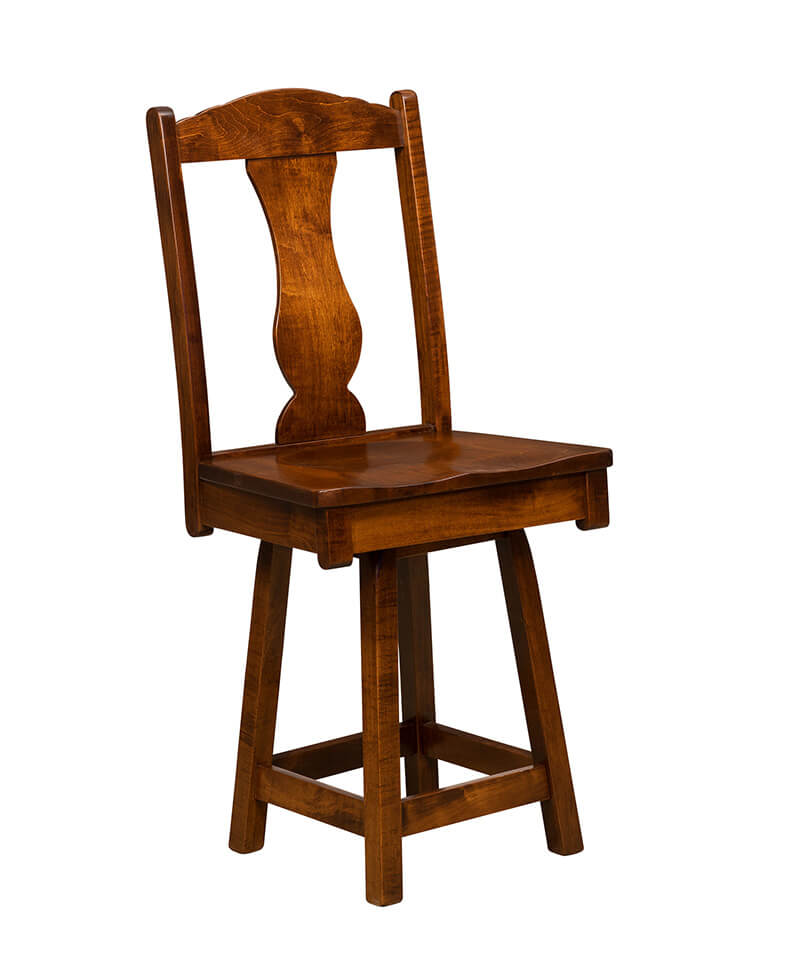 Austin bar stool amish stools deutsch furniture haus