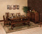 Amish Monte Rio Dining Set