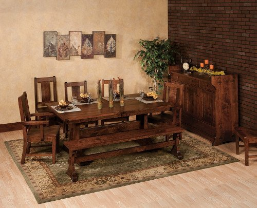 Amish Monte Rio Dining Set