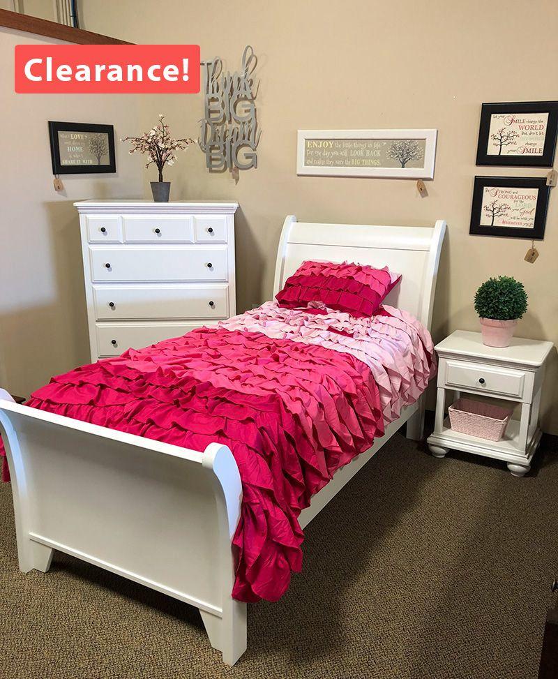 3 Piece Twin Bedroom Set Clearance Deutsch Furniture Haus