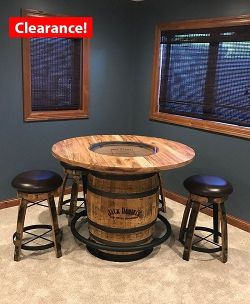 Jack Daniels Whiskey Barrel Pub Table