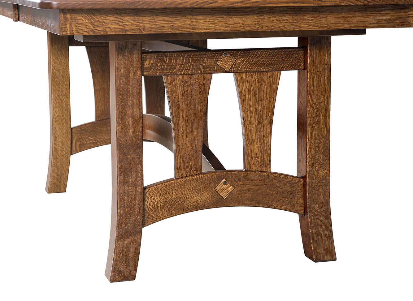 Naperville Trestle Table Detail