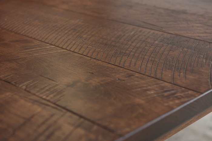 Vintage Leg Table Top Detail