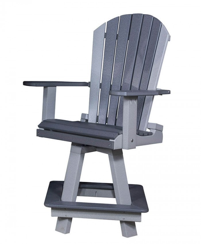 Adirondack High Bar Swivel Chair