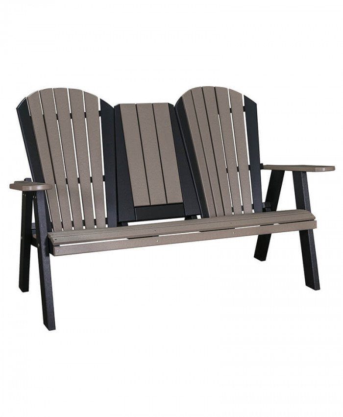 Adirondack Stationary Love Seat
