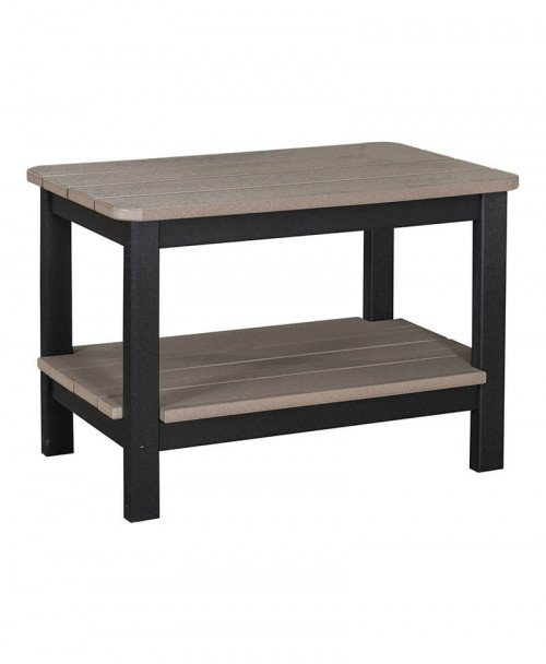 Coffee Table w/ Double Shelves