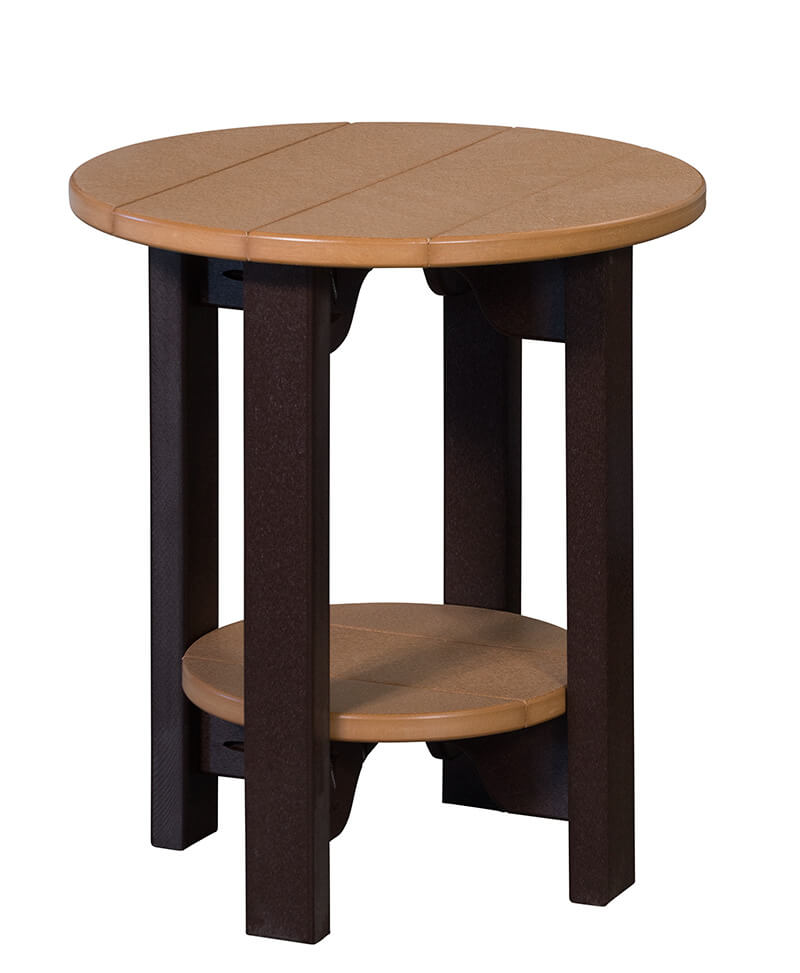 Round End Table 22""
