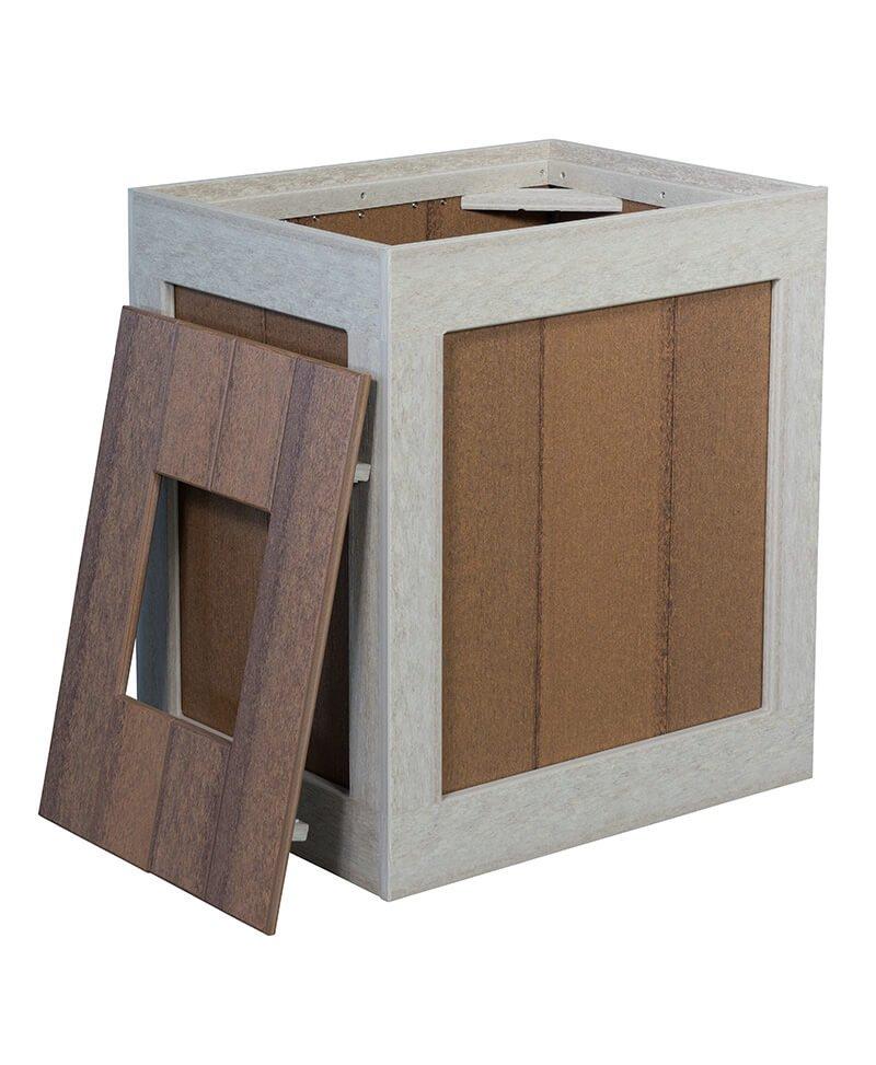 Waste Basket Box Open