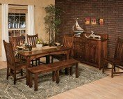 Amish Carson 8 Piece Dining Room Set