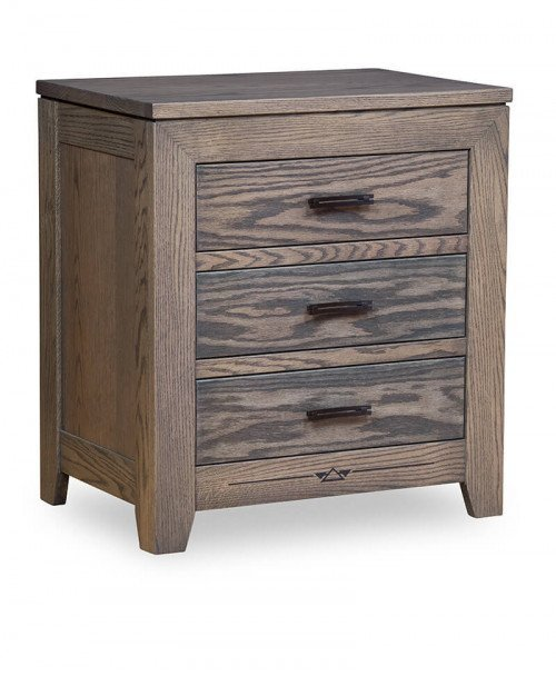 Addison 3 Drawer Nightstand