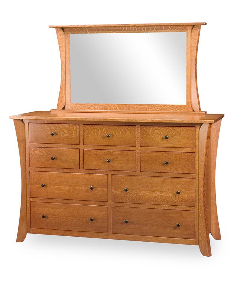 Caledonia 10 Drawer Dresser