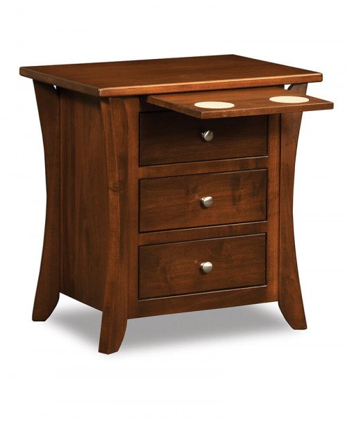 Caledonia 3 Drawer Nightstand