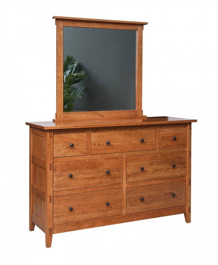 Amish Chandler 7 Drawer Dresser