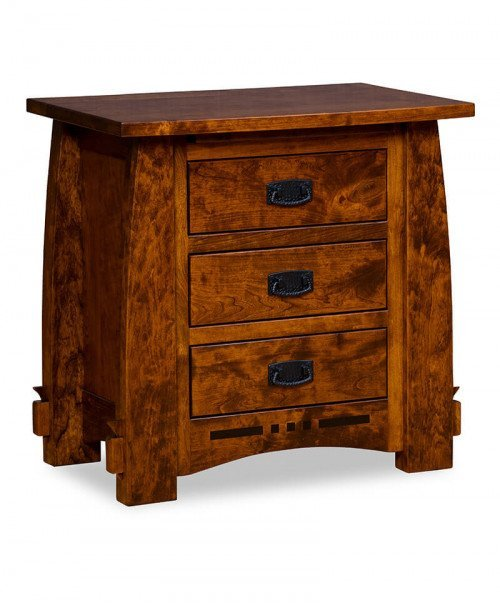 Colebrook 3 Drawer Nightstand 27""