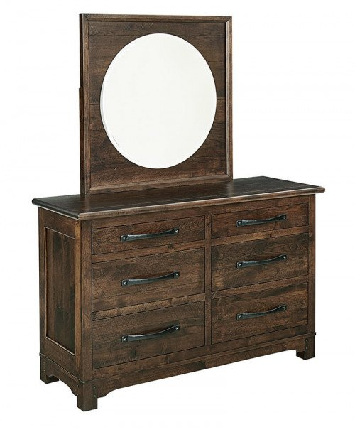 Amish Grayson Small 6 Drawer Dresser