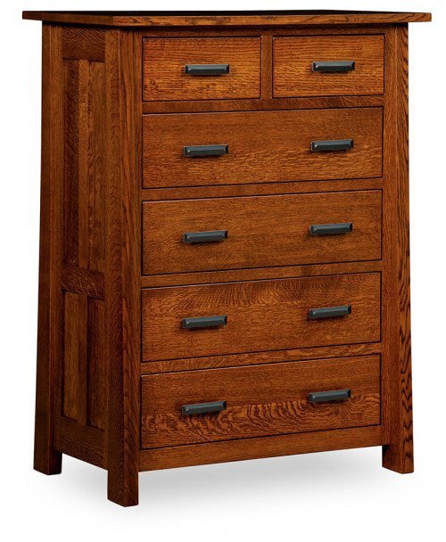 Freemont Mission 6 Drawer Chest