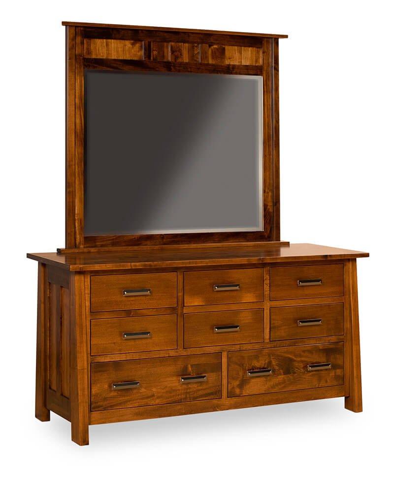 Freemont Mission 8 Drawer Dresser