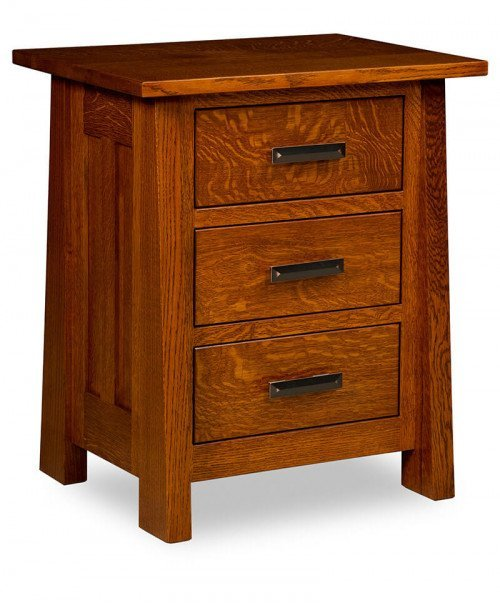Freemont Mission 3 Drawer Nightstand
