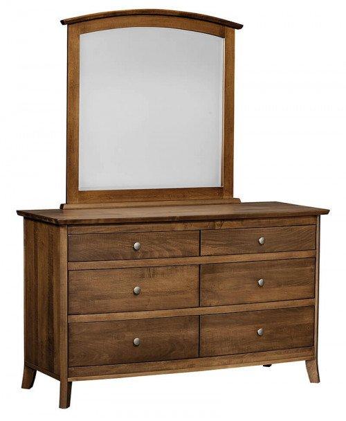 Amish Mya 6 Drawer Dresser