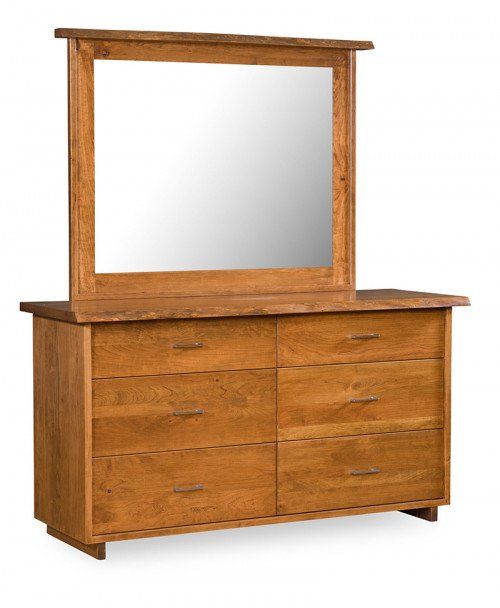 Live Edge 6 Drawer Dresser