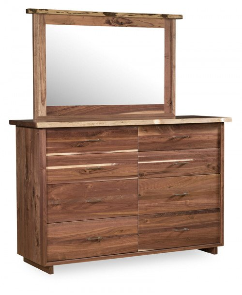 Live Edge 8 Drawer Dresser