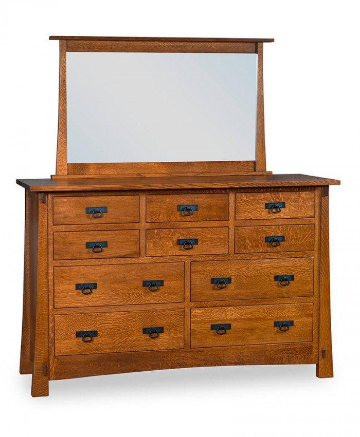 Modesto 10 Drawer Dresser