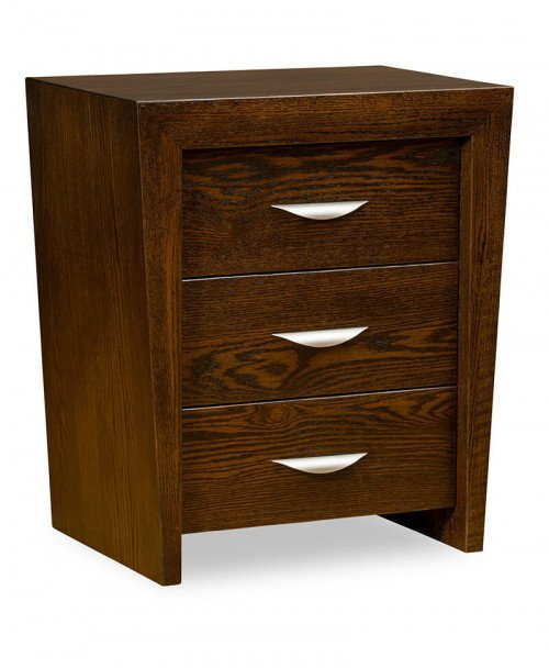 North Avenue 3 Drawer Nightstand