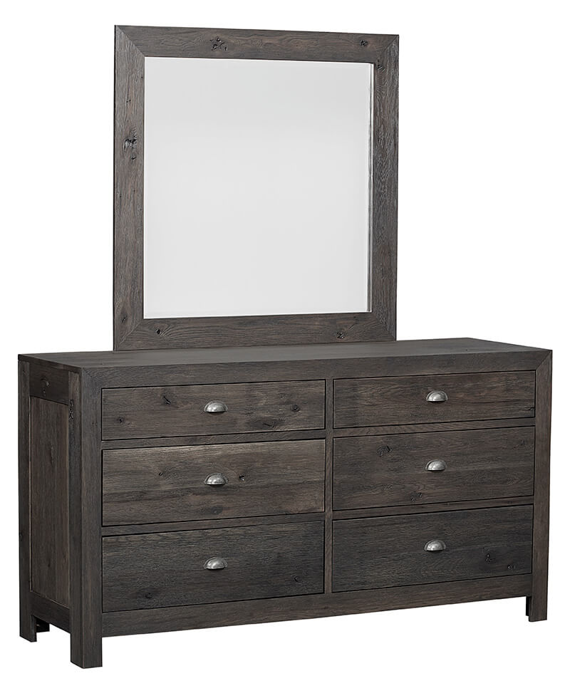 Amish Taft 6 Drawer Dresser