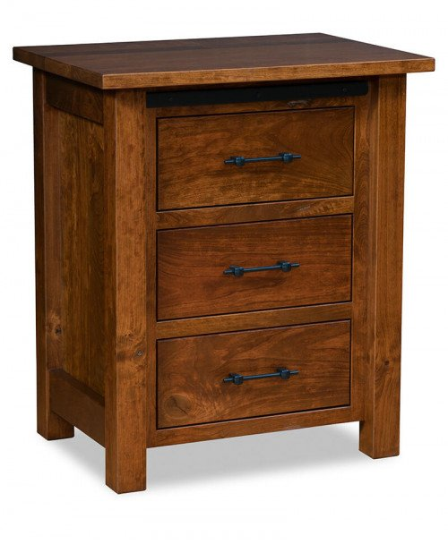 Teton 3 Drawer Nightstand