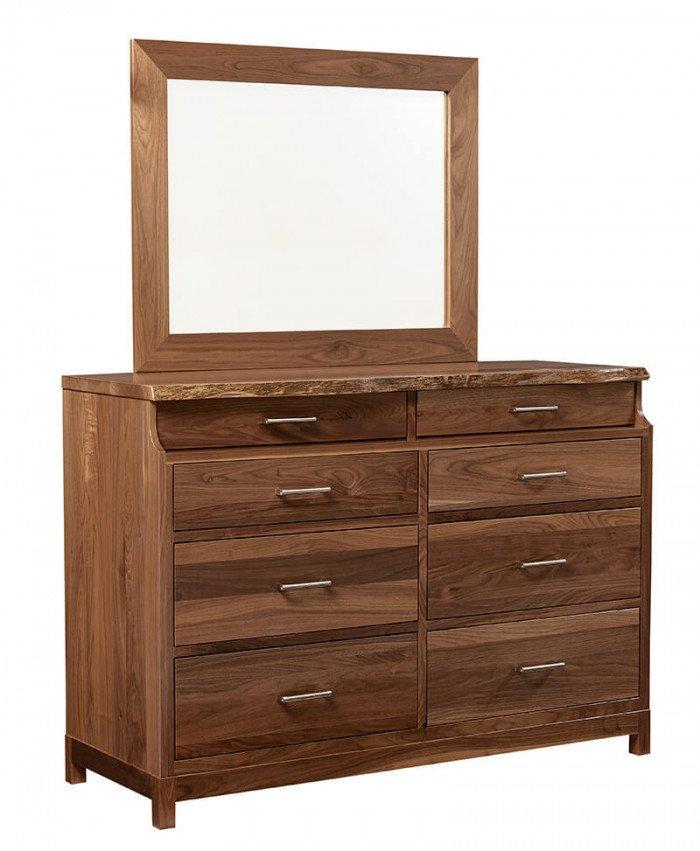 Amish Xeno 8 Drawer Dresser
