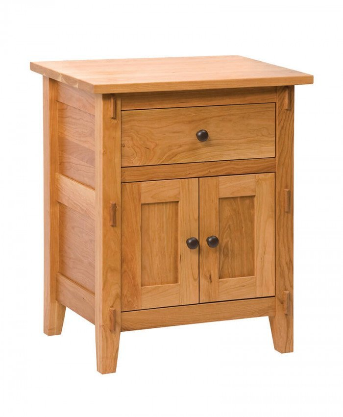 Bungalow 1 Drawer 2 Door Nightstand