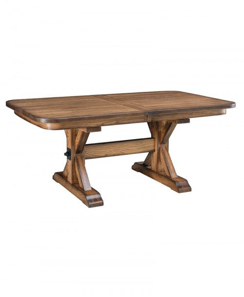 Amish Alberta Trestle Table