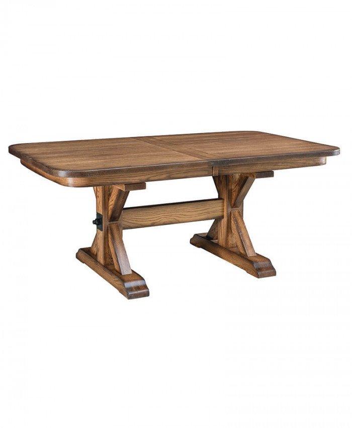 Amish Alberta Trestle Table