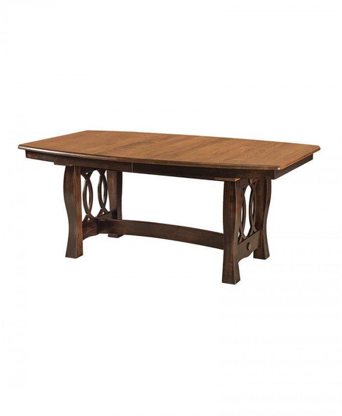 Amish Cambria Trestle Table